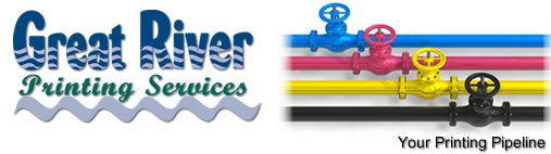 Great River Printing One or Full Color Printing Four Color Printers Digital Printing Bindery Services Full Service Direct Mail House Brooklyn Park MN